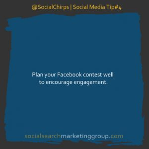 Facebook Contest Plan Tip