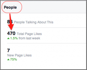 Facebook Likes Stats from People Not Pages