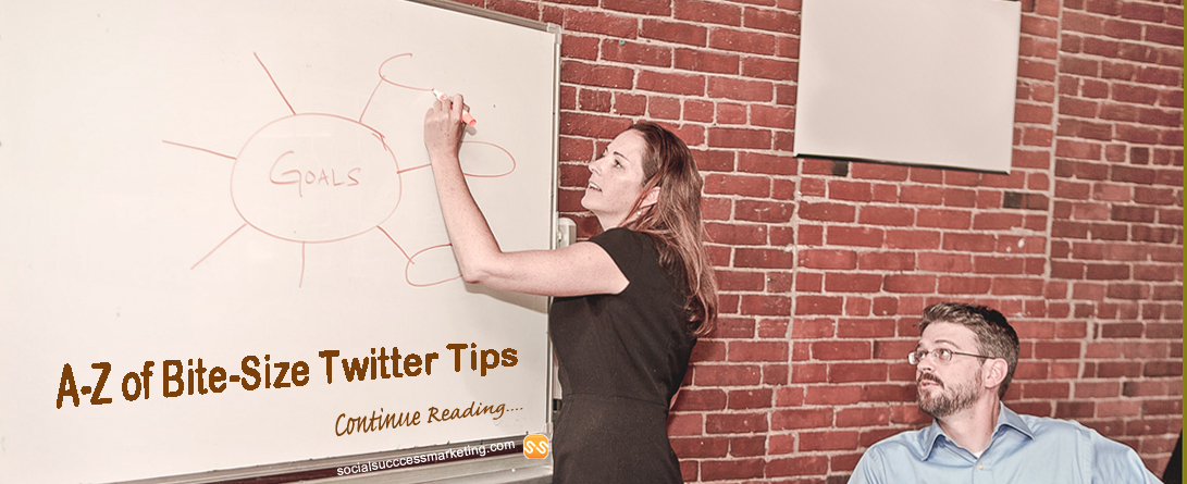 A to Z of Bite-Size Twitter Tips For Business Startups