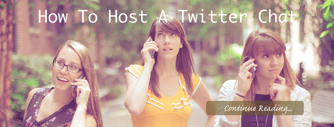 How to Host A Twitter chat