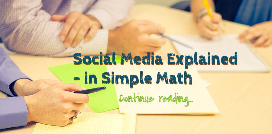 Social media explained | Simple Math 12 Lessons Learned