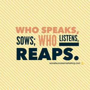 social media listening quote