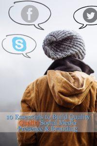 social media presence and branding tips