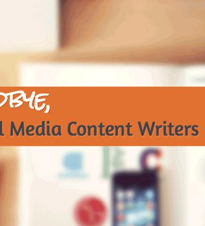 Social Media Writers Block