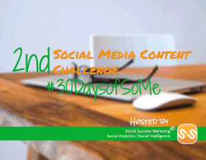Social Media Content Challenge Header