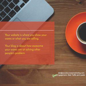 business blogging tip