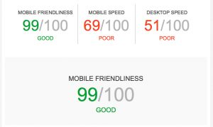 Website Speed Report Card