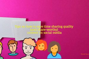 how to save time sharing quality content on social media