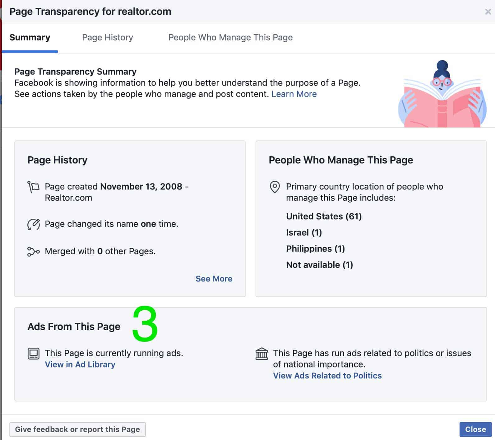 facebook advertising competitor research