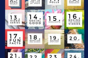 31 social media marketing post ideas for realtors