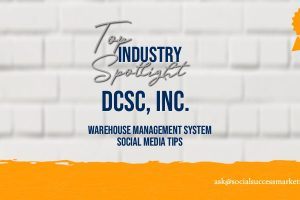 logistics management system social media tips