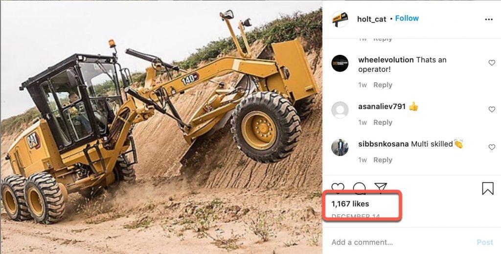 heavy construction equipment post