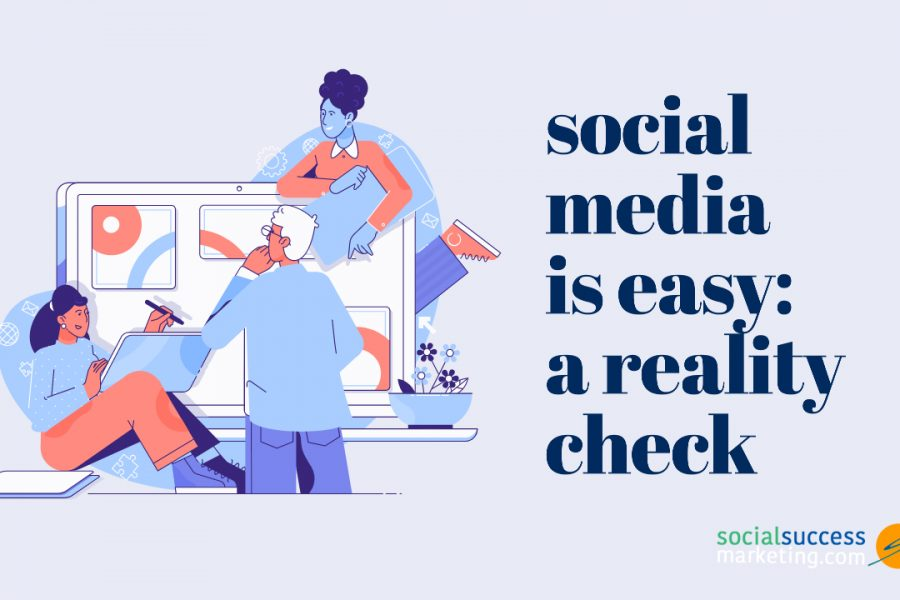 social media marketing misconception